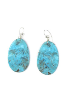 Turquoise Slab Earrings (ER5037)