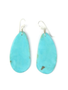 Turquoise Slab Earrings (ER5038)