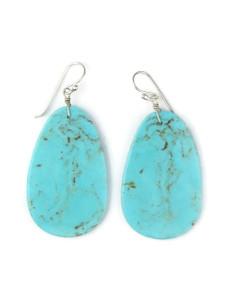 Turquoise Slab Earrings (ER5039)