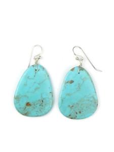 Turquoise Slab Earrings (ER5043)