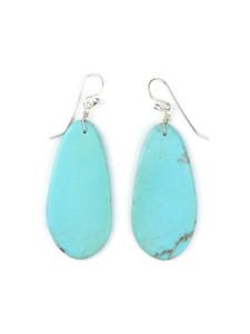 Turquoise Slab Earrings (ER5044)