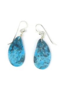 Turquoise Slab Earrings (ER5051)