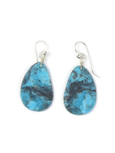 Turquoise Slab Earrings (ER5053)