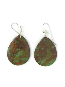 Turquoise Slab Earrings (ER5058)