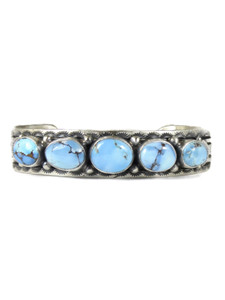 Golden Hills Turquoise Row Bracelet by June Defaito (BR6308)