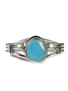 Kingman Turquoise Bracelet by Larson Lee (BR6311)