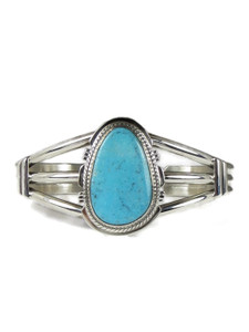 Kingman Turquoise Bracelet by Larson Lee (BR6312)