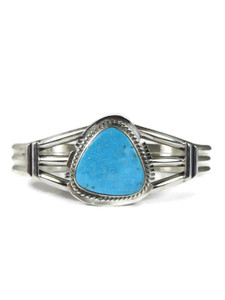 Kingman Turquoise Bracelet by Larson Lee (BR6313)