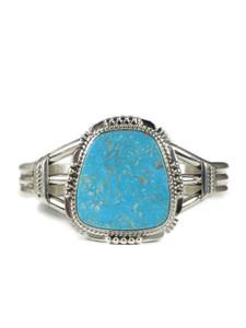 Kingman Turquoise Bracelet by John Nelson (BR6314)