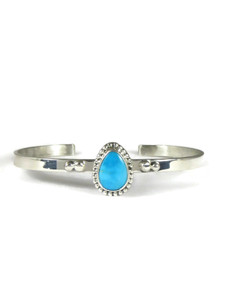 Arizona South Hill Turquoise Bracelet by Burt Francisco (BR6324)