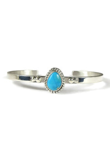 Arizona South Hill Turquoise Bracelet by Burt Francisco (BR6325)