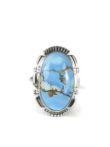 Golden Hills Turquoise Ring Size 7 (RG5082)