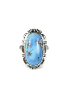 Golden Hills Turquoise Ring Size 7 (RG5085)