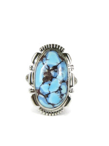 Golden Hills Turquoise Ring Size 6 (RG5087)