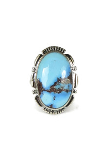 Golden Hills Turquoise Ring Size 8 (RG5088)
