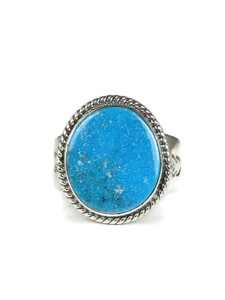 Kingman Turquoise Ring Size 13 by Jake Sampson (RG5095)