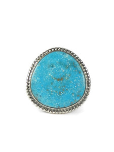 Kingman Turquoise Ring Size 13 by Lyle Piaso (RG5096)