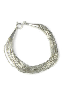 "20 Strand Liquid Silver Bracelet 6 1/4"" - Small (LSBR20-Small)"