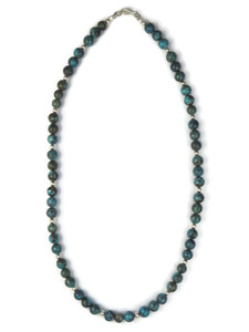 "Turquoise Bead Necklace 19 3/4"" (NK4761)"