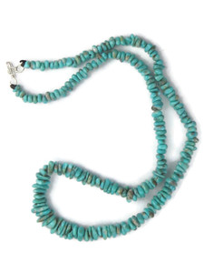 "Carico Lake Turquoise Bead Necklace 19"" (NK4262)"