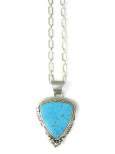 Kingman Turquoise Pendant by Lucy Jake (PD4266)