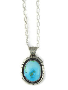 Sonoran Turquoise Pendant by Joe Piaso Jr. (PD4271)