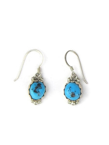 Kingman Turquoise Dangle Earrings (ER5620)