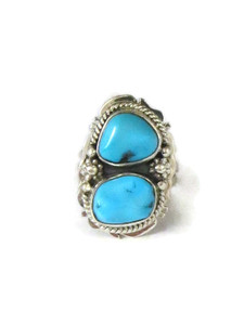 Sleeping Beauty Turquoise Ring Size 7 by Lucy Jake (RG5104)