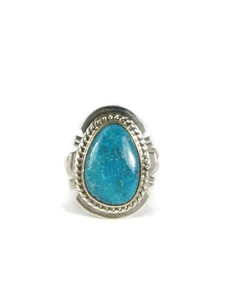 Kingman Turquoise Ring Size 5 by Larson Lee (RG5106)