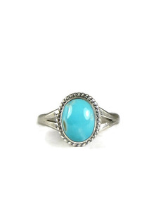 Turquoise Mountain Ring Size 5 (RG5109)