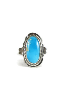 Sonoran Turquoise Ring Size 7 1/2 by Lucy Jake (RG5111)