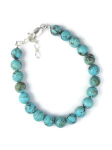 Turquoise Bead Bracelet (BR6330)