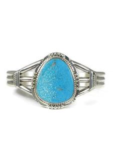 Kingman Turquoise Bracelet by John Nelson (BR6331)
