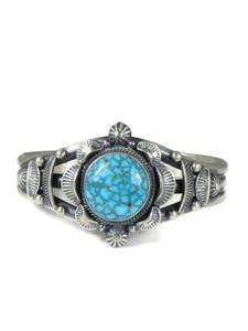 Webbed Kingman Turquoise Bracelet by Randy Boyd (BR6335)