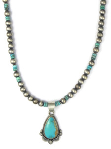 Royston Turquoise Pendant Necklace (NK4269)