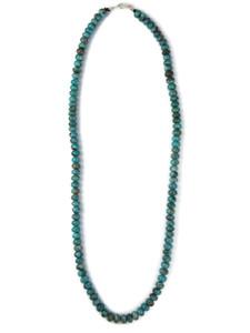 "Fox Turquoise Beads 19 1/2"" (NK4858)"