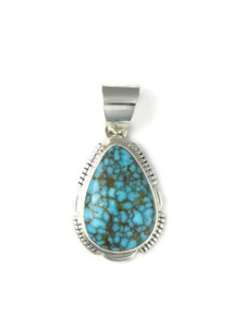 Kingman Turquoise Pendant by Larry Yazzie (PD4286)