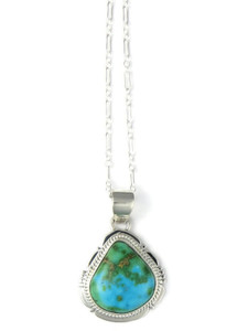 Sonoran Turquoise Pendant by Jake Sampson (PD4288)