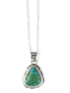 Sonoran Turquoise Pendant by Jake Sampson(PD4293)