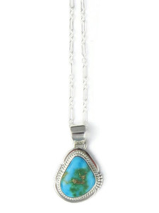 Sonoran Turquoise Pendant by Jake Sampson (PD4294)