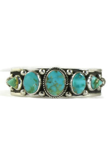 Royston Turquoise Row Bracelet by Albert Jake (BR6356)