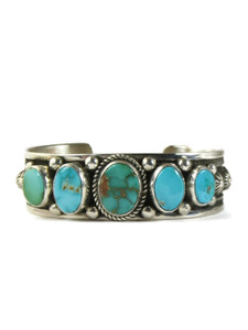 Royston Turquoise Row Bracelet by Albert Jake (BR6357)