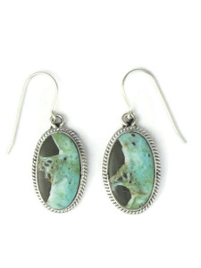 Dry Creek Turquoise Earrings by Burt Francisco (ER5712)