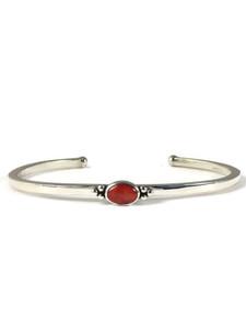 Dainty Red Spiny Oyster Shell Bracelet (BR6365)