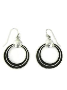 Silver Channel Earrings by Francis Jones (ER5743)