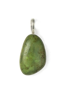 Emerald Valley Turquoise Pendant by Ronald Chavez (PD4321)
