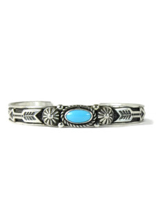 Sleeping Beauty Turquoise Bracelet with Arrrows by Albert Jake (BR6391)