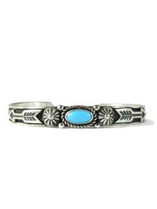 Sleeping Beauty Turquoise Bracelet with Arrrows by Albert Jake (BR6391)