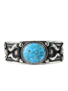 Kingman Turquoise Bracelet by Albert Jake (BR6393)