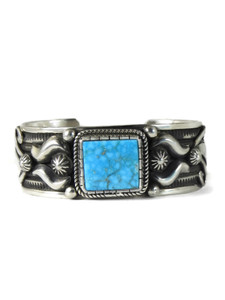Kingman Turquoise Bracelet by Albert Jake (BR6395)